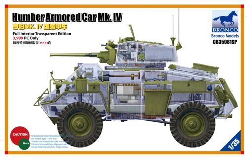 Bronco 1/35 British Humber Armored Car Mk.IV # CB35081SP