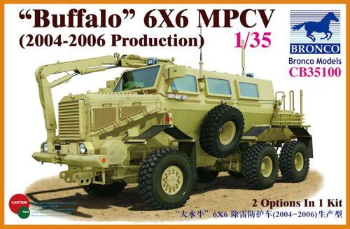 "Bronco 1/35 ""Buffalo"" 6x6 MPCV (2004-2006 Production) # CB35100"