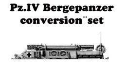 CMK 1/48 Pz.IV Bergepanzer Conversion Set # 8009