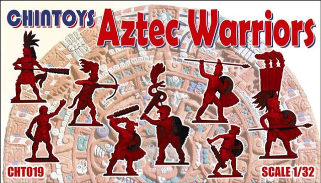 Chintoys 1/32 Aztec Warriors # 019