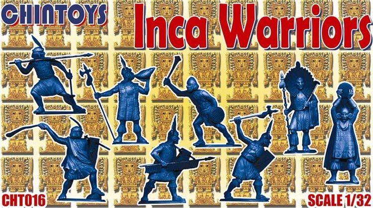 Chintoys 1/32 Inca Warriors # 016