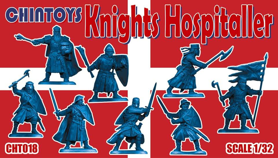 Chintoys 1/32 Knights Hospitaller # 018