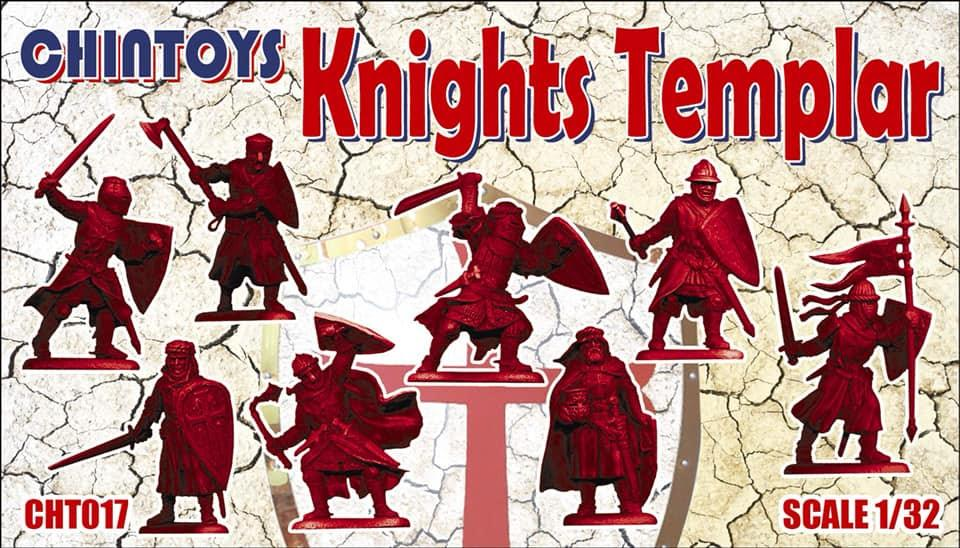 Chintoys 1/32 Knights Templar # 017