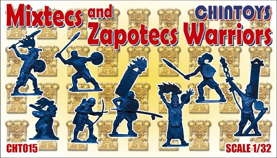 Chintoys 1/32 Mixtecs and Zapotecs Warriors # 015