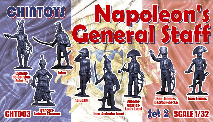 Chintoys 1/32 Napoleon's General Staff Set 2 # 003