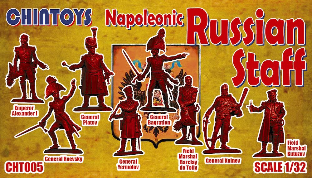 Chintoys 1/32 Napoleonic Russian Staff # 005