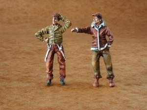 Czech Master 1/35 US Army mechanics x 2 WWII # F48095