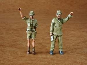 Czech Master 1/48 Japanese Army mechanics x 2 # F48088