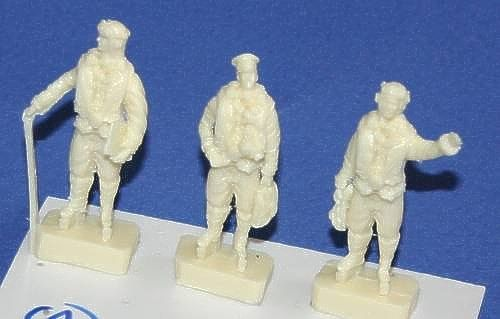 Czech Master 1/48 WWII RAF Bomber crew x 3 Set 1 for Wellington