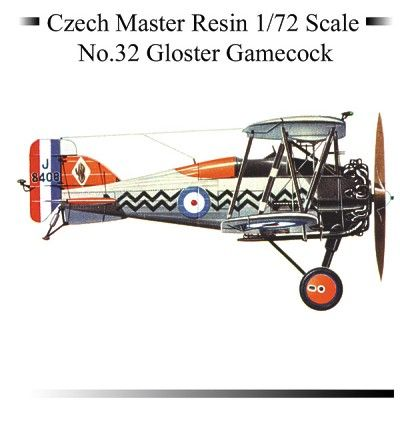 Czech Master 1/72 Gloster Gamecock # 32