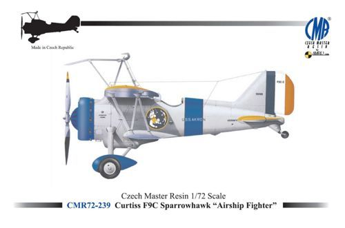 "Czech Master Resin 1/72 Curtiss F9C Sparrowhawk ""Airship Fighter"" # 239"