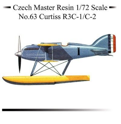 Czech Master Resin 1/72 Curtiss R3C-1 / C-2 # 5063