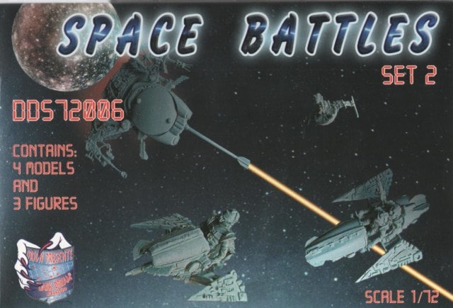 Dark Dream Studio 1/72 Space Battles Set 2 # 72006