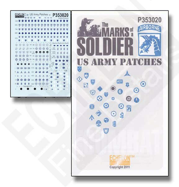 Echelon FD 1/35 U.S. Army Patches # P353020