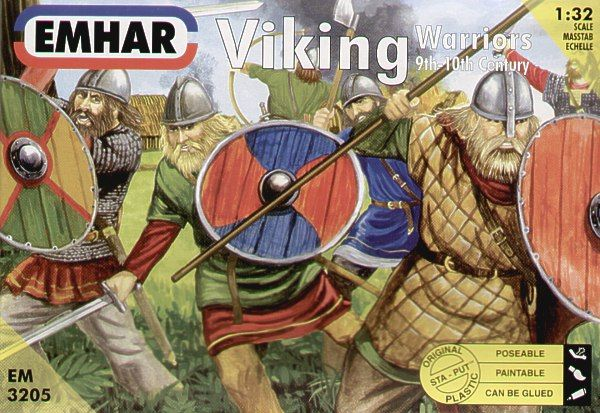 Emhar 1/32 Viking Warriors # 3205