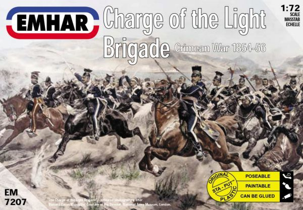 Emhar 1/72 Charge of the Light Brigade Crimean War # 7207