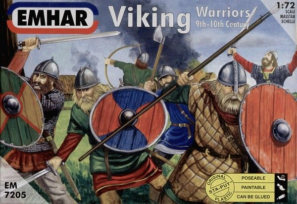 Emhar 1/72 Viking Warriors # 7205