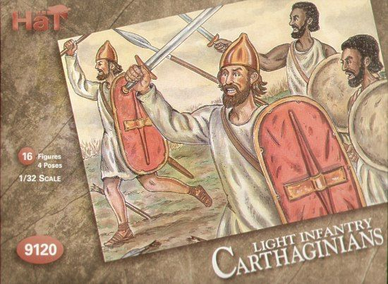 HaT 1/32 Carthaginians Light African Infantry # 9120