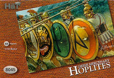 HaT 1/72 Greek Mercenary Hoplites # 8045