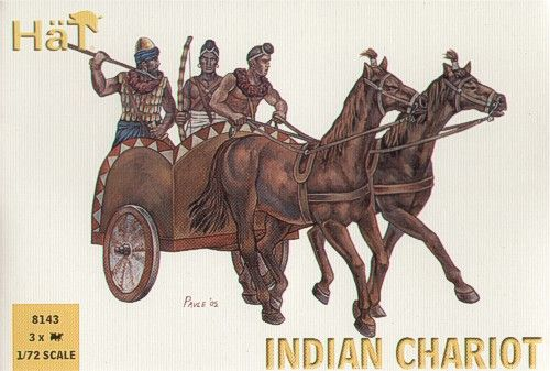 HaT 1/72 Indian Chariot of King Porus # 8143