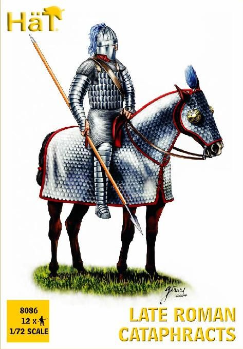 HaT 1/72 Late Roman Cataphracts # 8086