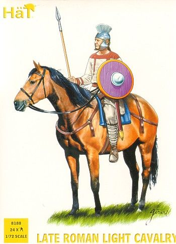 HaT 1/72 Late Roman Light Cavalry # 8188
