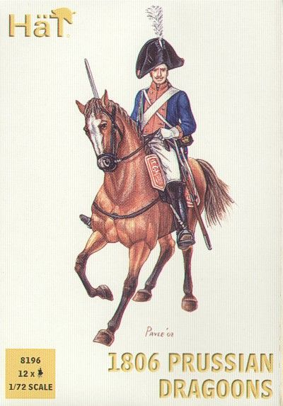 HaT 1/72 Napoleonic 1806 Prussian Dragoons # 8196