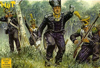 HaT 1/72 Napoleonic French Light Infantry # 8042
