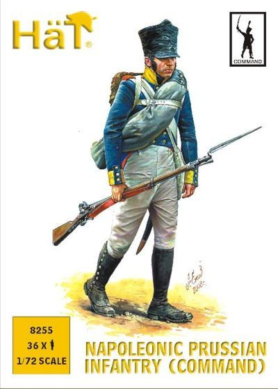 HaT 1/72 Napoleonic Prussian Infantry (Command) # 8255