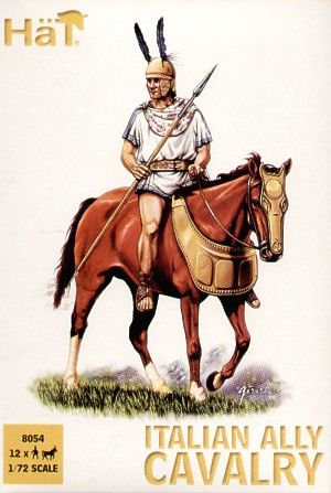 HaT 1/72 Punic War Italian Ally Cavalry # 8054