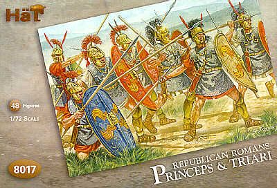 HaT 1/72 Republican Romans Princeps and Triari # 8017