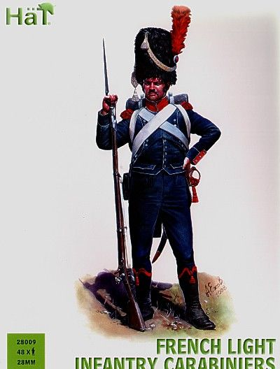 HaT 28mm Napoleonic French Light Infantry Carabiniers # 28009