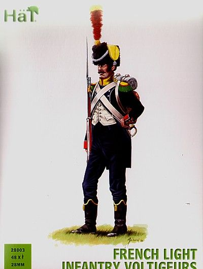 HaT 28mm Napoleonic French Light Infantry Voltigeurs # 28003