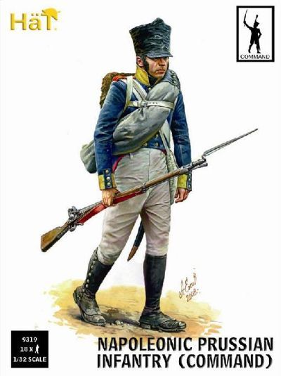 Hat 1/32 Napolenonic Prussian Infantry (Command) # 9319