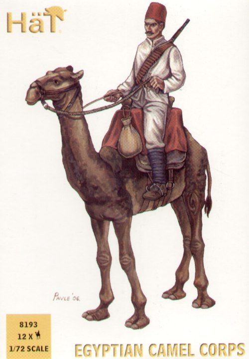 Hat 1/72 Egyptian Camel Corps # 8193