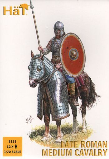 Hat 1/72 Late Roman Medium Cavalry # 8183