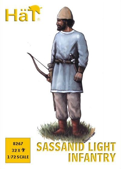 Hat 1/72 Sassanid Light Infantry # 8267