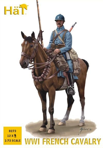 Hat 1/72 WWI French Cavalry # 8273