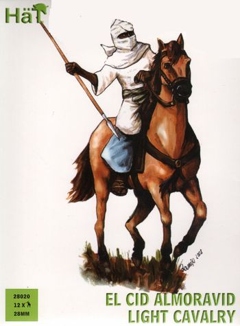 Hat 28mm El Cid Almoravid Light Cavalry # 28020