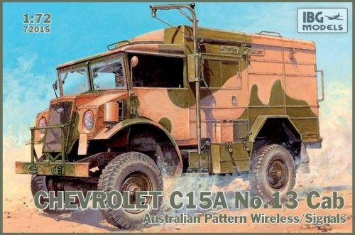IBG 1/72 Chevrolet C15A No. 13 Cab Australian Pattern Wireless/S