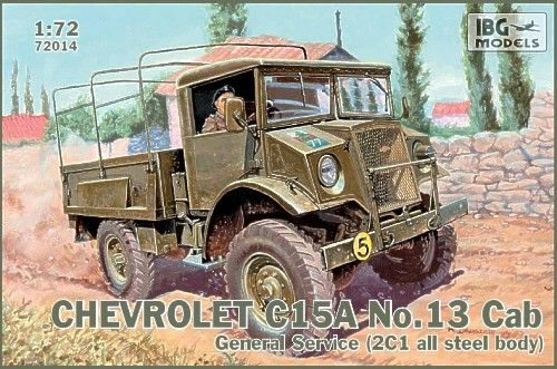 IBG 1/72 Chevrolet C15A No. 13 Cab General Service # 72014