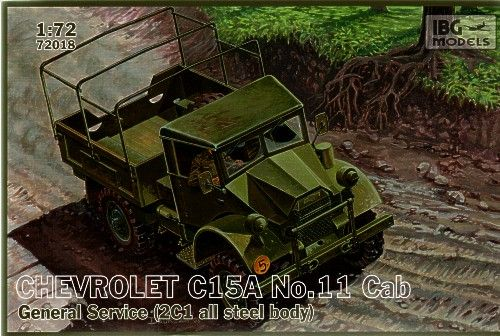 IBG 1/72 Chevrolet C15A No.11 Cab General Service # 72018