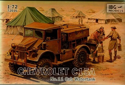 IBG 1/72 Chevrolet C15A No.11 Cab Watertank # 72016