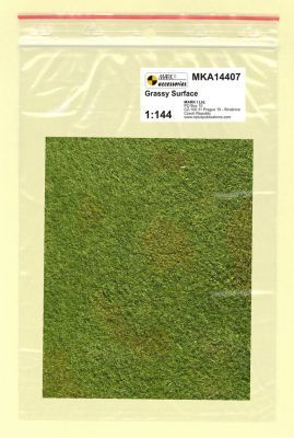 Mark I Models 1/144 Grassy Surface (Card & Paper) # 14407