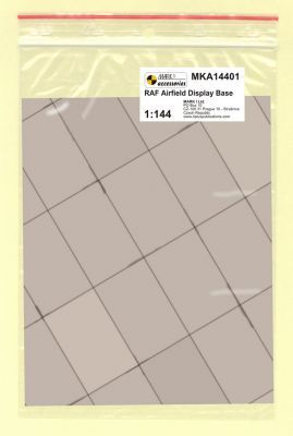 Mark I Models 1/144 RAF Base Rectangular Concrete Panels (Card & Paper) # 14401