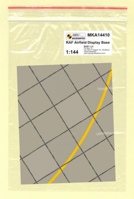 Mark I Models 1/144 RAF Base Square Concrete Panels (Card & Paper) # 14410