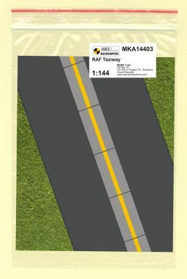Mark I Models 1/144 RAF Taxiway Tarmac & Concrete Panels (Card & Paper) # 14403