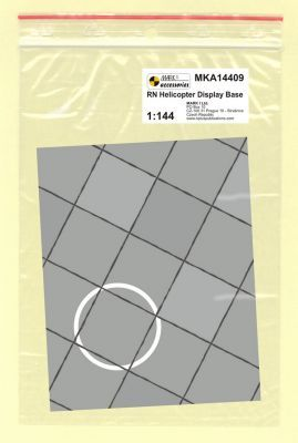 Mark I Models 1/144 RN Helicopter Base (Card & Paper) # 14409