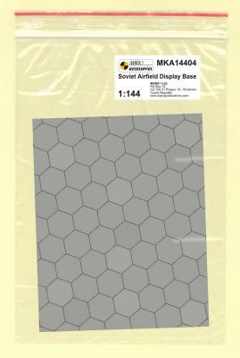 Mark I Models 1/144 Soviet Base Hexagonal Concrete Plates (Card & Paper) # 14404