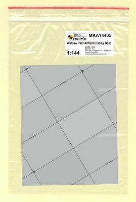 Mark I Models 1/144 Warsaw Pact Base Rectangular Concrete Panels (Card & Paper) # 14405